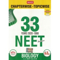 33 Years Chapterwise NEET Biology KS01142