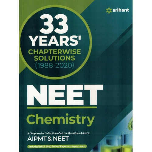 33 Years Chapterwise Soliutions NEET Chemistry KS01133