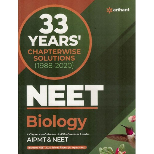 33 Years Chapterwise Solutions NEET Biology KS01130