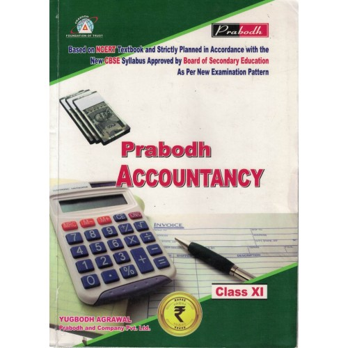 Accountancy Prabodh Class 11th English Medium KS00817