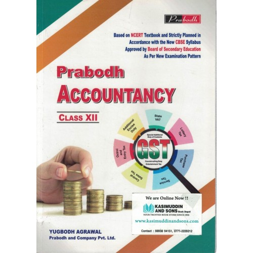 Accountancy Prabodh Class 12th English Medium KS00819