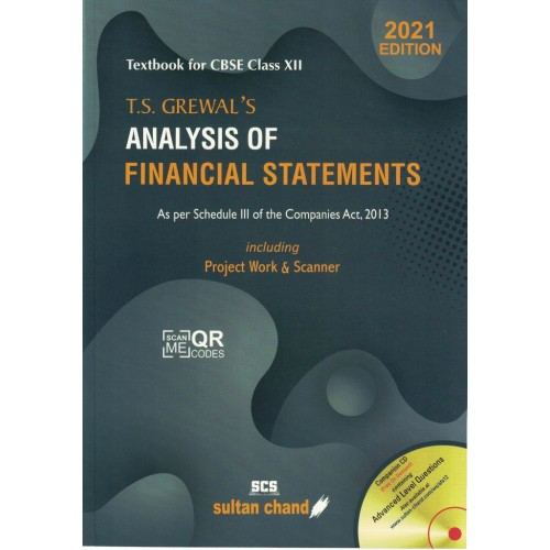 Analysis of Financial Statements Class  12th T.S Grewal  KS01188