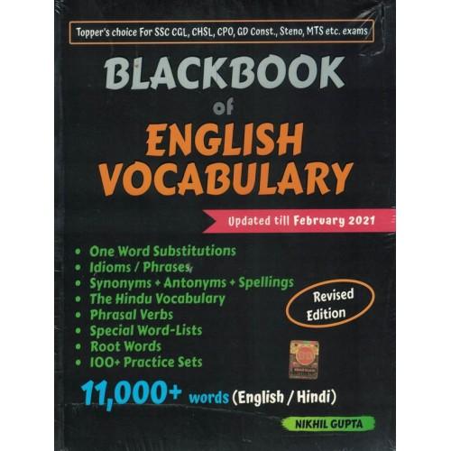 BLACKBOOK of English Vocabulary By Nikhil Gupta KS01316