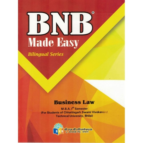BNB Business Law  MBA 1sem. KS01009