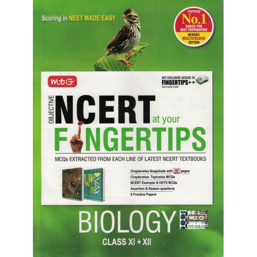 Biology Fingertips Ncert Mtg KS00233