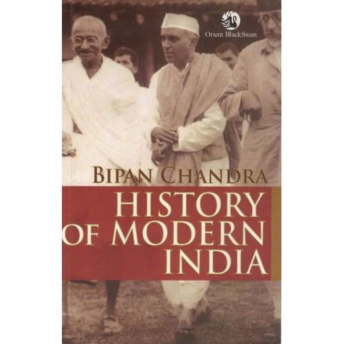History Of Modern india By Bipin Chandra KS00211 mrp425