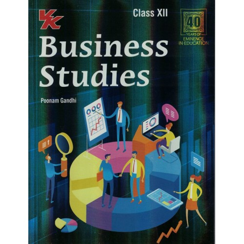 VK Business Studies By Poonam Gandhi Class 12th KS00811