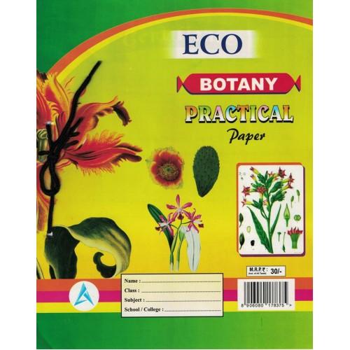 Botany Pratical Paper Eco KS00192