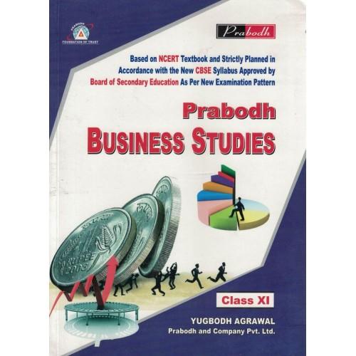 Bussiness Studies English Medium Class 11th Prabodh KS00973