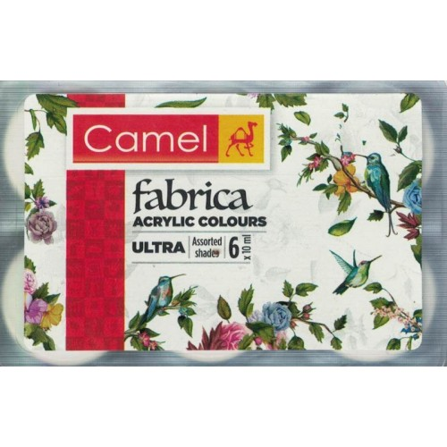 Camel Fabrica Acrylic Colours (Pack of 1) KS01392