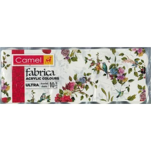 Camel Fabrica Acrylic Colours Ultra 10 Shades KS013010