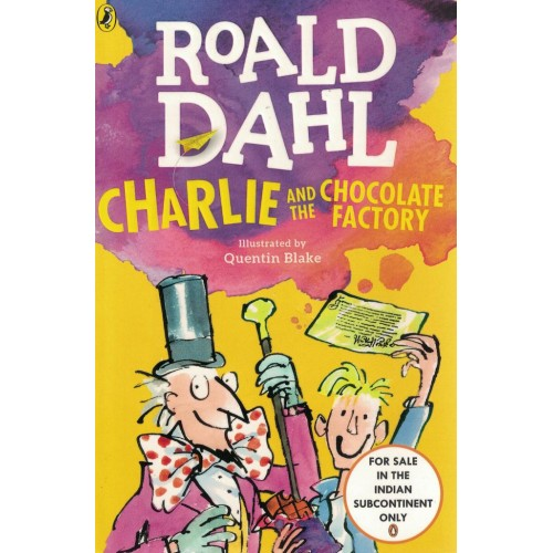 Charlie And The Chocolate Factory By Roald Dahl KS00834