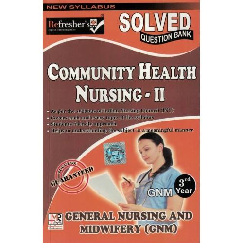 Community Health Nursing 2 Question Bank Gnm 1Year KS00268