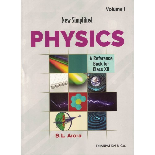 NewSimplifiedPhsics A Reference Book For Vol.1-2Class12th KS00350