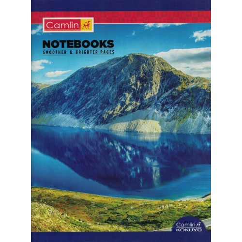 Note book camlin 180 Page  A4  Crown Double Line Size 24 x 18 KS00144A