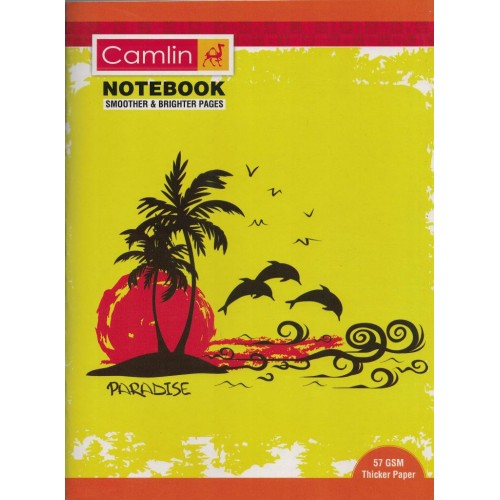 Note book camlin 180 Page  A4  Crown Four Line-Interleaf Size 24 x 18 KS00144G