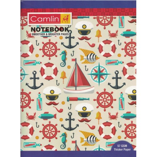 Note book camlin 180 Page  A4  Crown Four Line Size 24 x 18 KS00144B