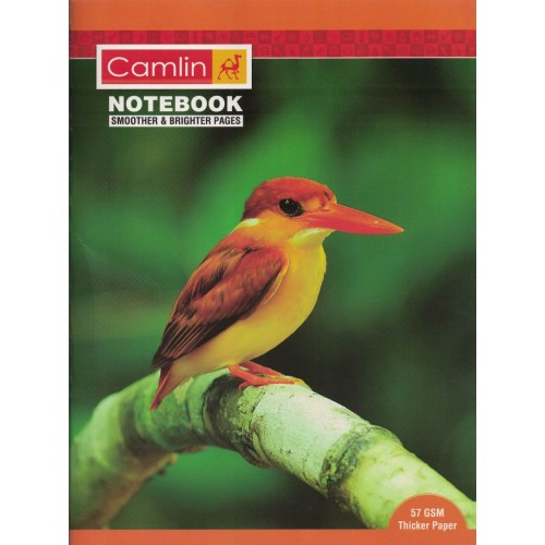Note book camlin 180 Page  A4  Crown Unruled Size 24 x 18 KS00144E
