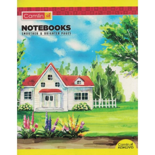 Note book camlin 180 Page  A4 Jumbo Four Line Size 25.5x20.5 KS00138A