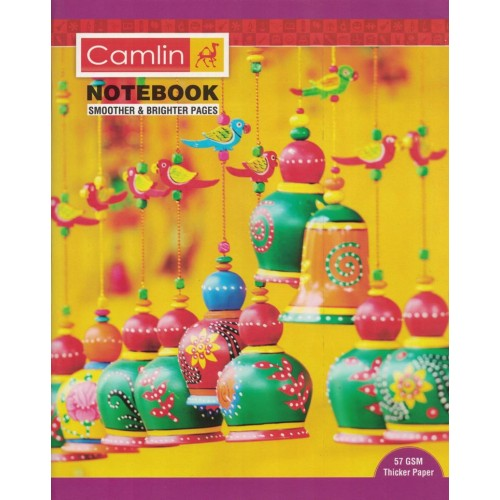 Note book camlin 180 Page  A4 Jumbo Singe Line Size 25.5x20.5 KS00138