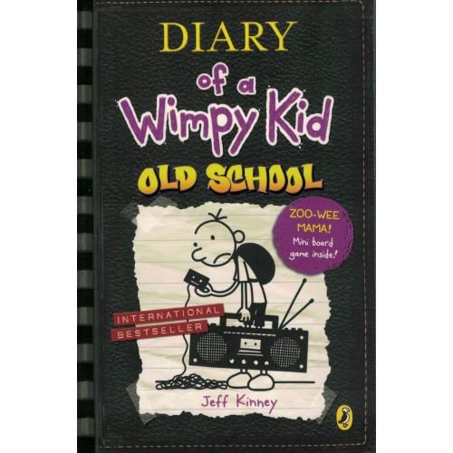 Diary Of Wimphy Kid Old School By Jeff Kinney   KS00836