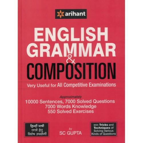 English Grammar And Composition Arihant KS01183