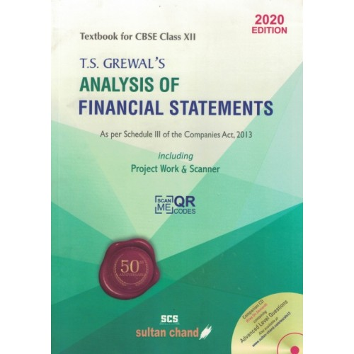 Financial Statement Class 12th - By T.S.Grewal's KS00012
