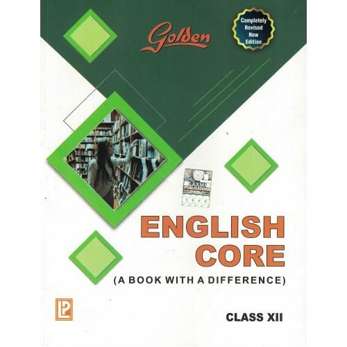 Golden English Core Class  12th KS01196