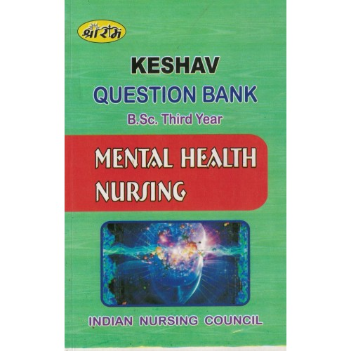 Keshav Question Bank Mental Health nursing 3year KS00291