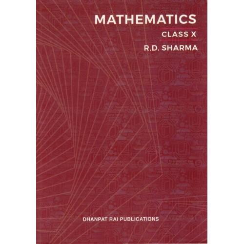 Mathematics Class 10th English Medium (R.D.Sharma) KS00016A