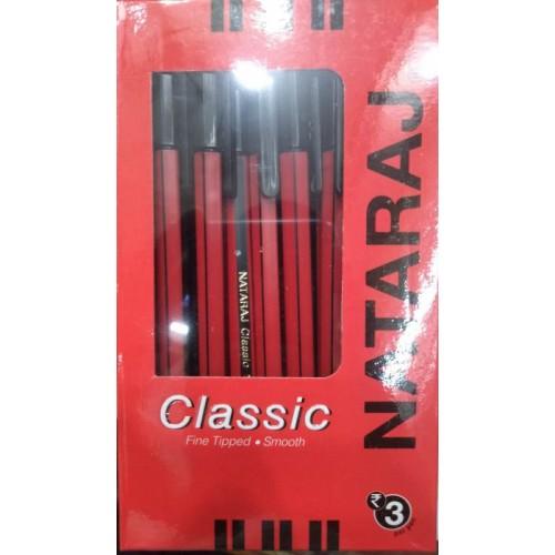 Nataraj Classic Pen (Pack Of 4 Pcs)