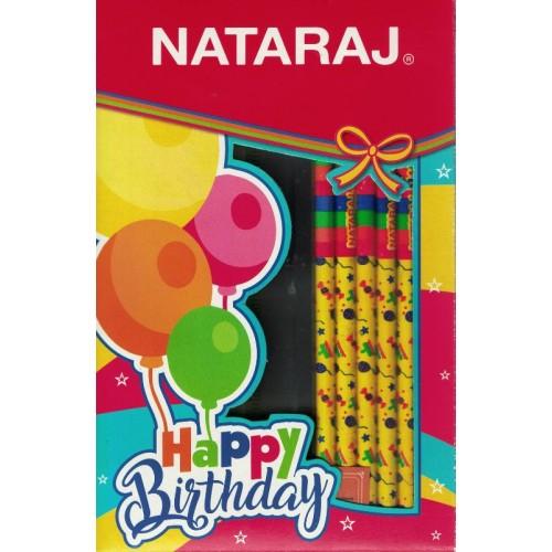 Nataraj Happy Birthday (Pack of 2) KS01387