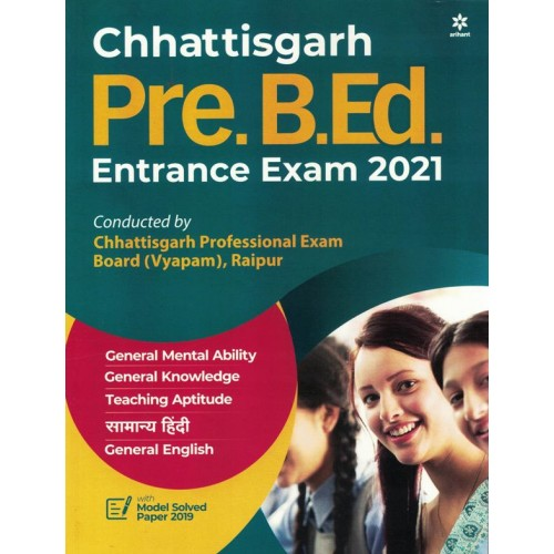 Chhattisgarh Pre B.Ed Entrance Exam Arihant KS01318