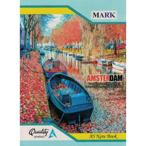 Notebook Mark A5  Single line page120 size 22.5X16 KS0099