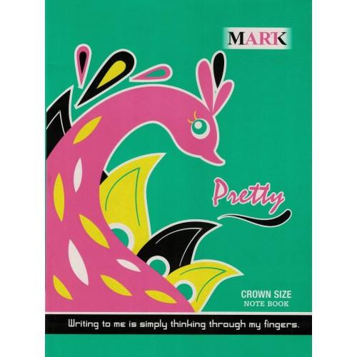 Notebook Mark A4 Crown Single Line Page152 Size 24x18 KS00114
