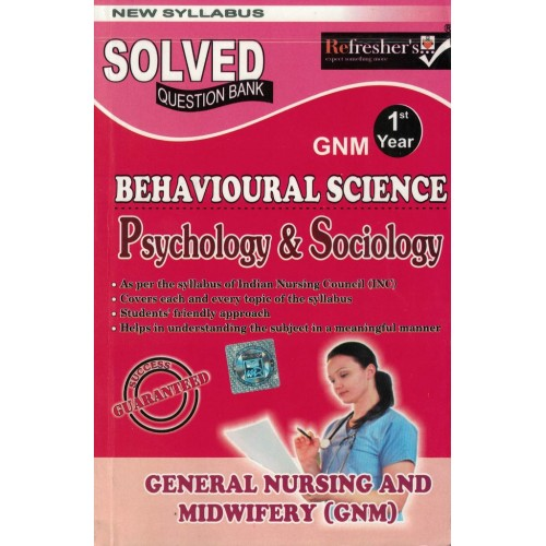 Behavioural Scince Psychology & Sociology Question Bank Gnm 1Year KS00262