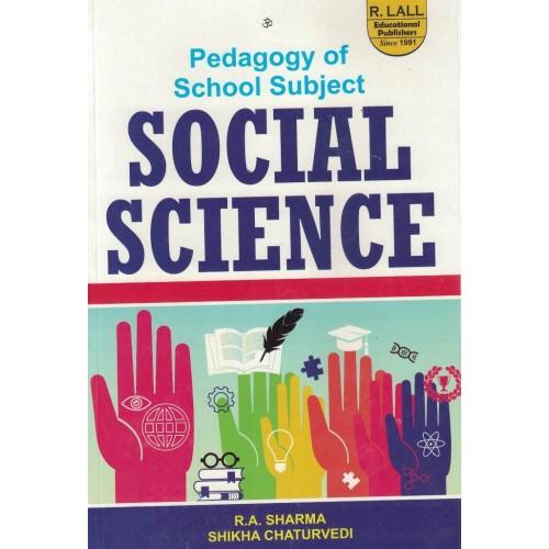 Pedagogy Of School Subject Social Science By  R.A. Sharma KS01154