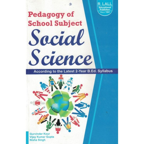 Pedagogy Of School Subject Social Science By Gurvinder Kour KS01155