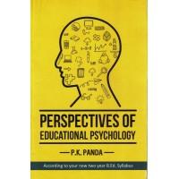 Perspectives of Educational Psychology By P.K Panda KS01407