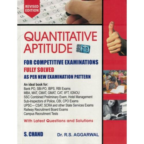 Quantitative Aptitude  Fully Solved By R.S.Aggarwal KS00241
