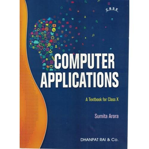 Sumita Arora Computer Applications for Class 10th